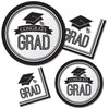 Graduation School Spirit White Napkins, 36 ct Party Supplies