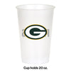 Green Bay Packers Plastic Cup, 20Oz, 8 ct Party Decoration