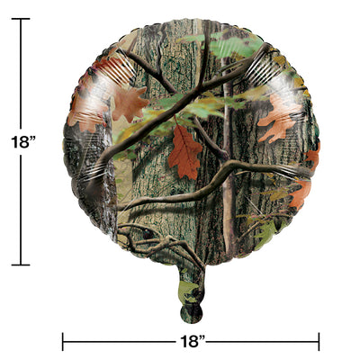 "Hunting Camo Metallic Balloon 18"" Party Decoration"