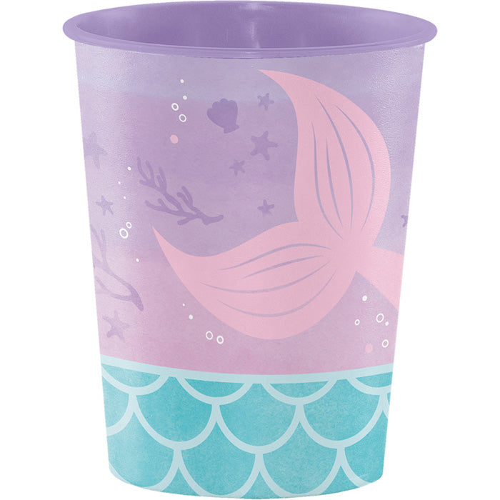 Mermaid Shine Plastic Keepsake Cup 16 Oz. by Creative Converting