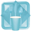 Pastel Blue Assorted Plastic Cutlery, 24 ct Party Supplies