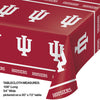 "Indiana University Plastic Tablecloth, 54"" X 108"" Party Decoration"