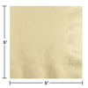 Ivory Beverage Napkin 2Ply, 50 ct Party Decoration