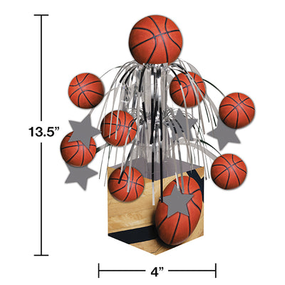 Basketball Centerpiece Party Decoration