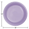 Luscious Lavender Plastic Banquet Plates, 20 ct Party Decoration