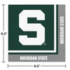 Michigan State University Napkins, 20 ct Party Decoration
