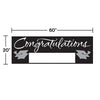 Black Graduation Party Banner Party Decoration
