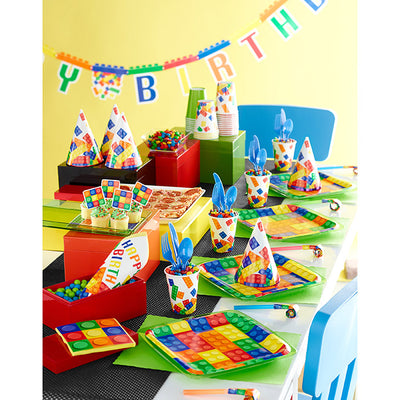 Block Party Jointed Banner Lg Party Supplies