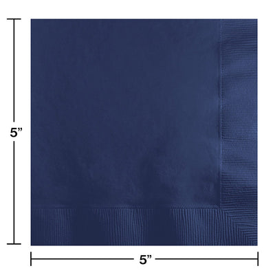 Navy Beverage Napkin 2Ply, 200 ct Party Decoration