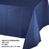 "Navy Tablecover Plastic 54"" X 108"" Party Decoration"
