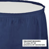 "Navy Plastic Tableskirt, 14' X 29"" Party Decoration"