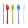 Assorted Color Mini Appetizer Forks, 24 ct Party Supplies