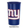 New York Giants Plastic Cup, 22 Oz Party Decoration