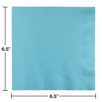 Pastel Blue Luncheon Napkin 2Ply, 50 ct Party Decoration