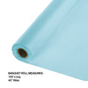 "Pastel Blue Banquet Roll 40"" X 100' Party Decoration"