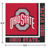 Ohio State University Napkins, 20 ct Party Decoration