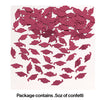 Burgundy Red Mortarboard Graduation Confetti, 0.5 oz Party Decoration