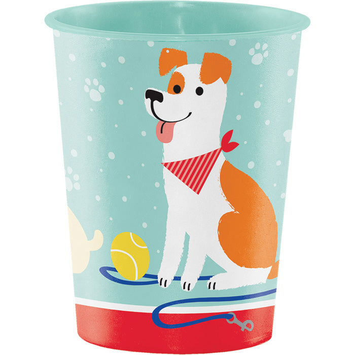 Dog Party Plastic Keepsake Cup 16 Oz. by Creative Converting