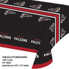 "Atlanta Falcons Plastic Tablecloth, 54"" X 108"" Party Decoration"