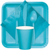 Bermuda Blue Plastic Spoons, 24 ct Party Supplies