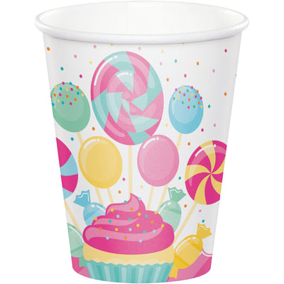 Candy Bouquet Hot/Cold Cups 8Oz. 8ct by Creative Converting