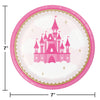 Little Princess Luncheon Plate 8ct Party Decoration