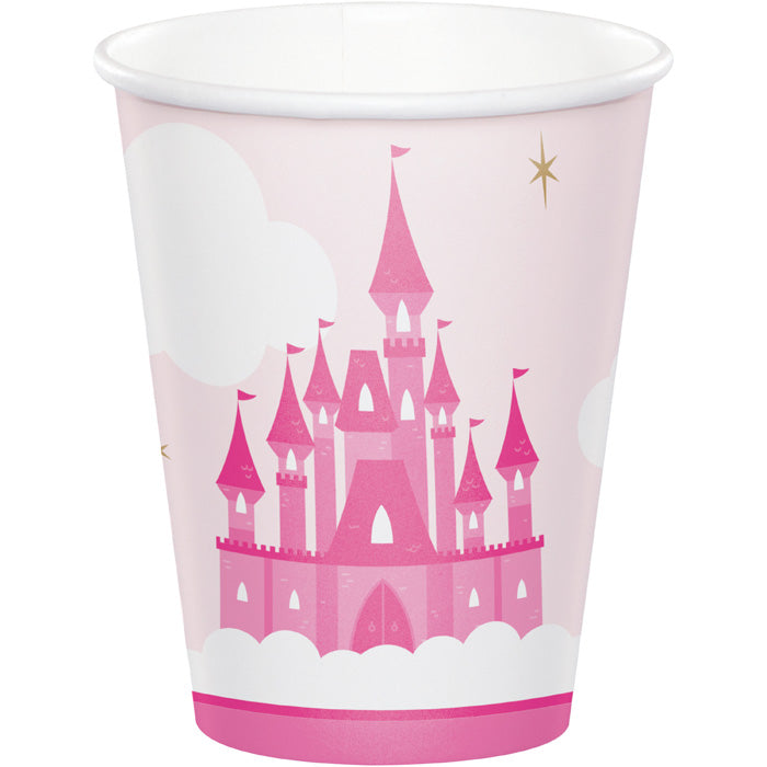 Little Princess Hot/Cold Cups 8Oz. 8ct by Creative Converting