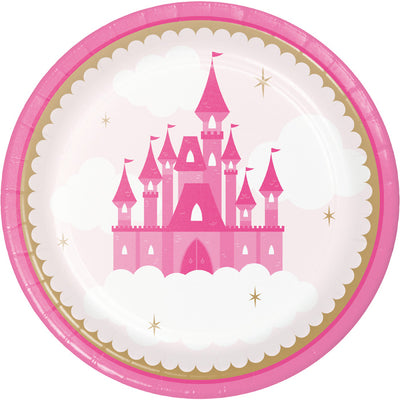 Little Princess Dinner Plate 8ct by Creative Converting