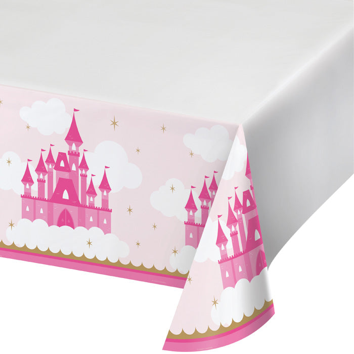 "Little Princess Plastic Tablecover 48"" X 88"" by Creative Converting"