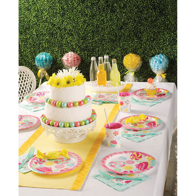Candy Bouquet Paper Plates, 8 ct Party Supplies