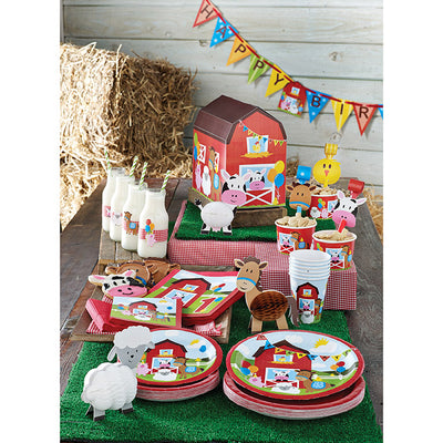 Farmhouse Fun Blowouts W/Med, 8 ct Party Supplies
