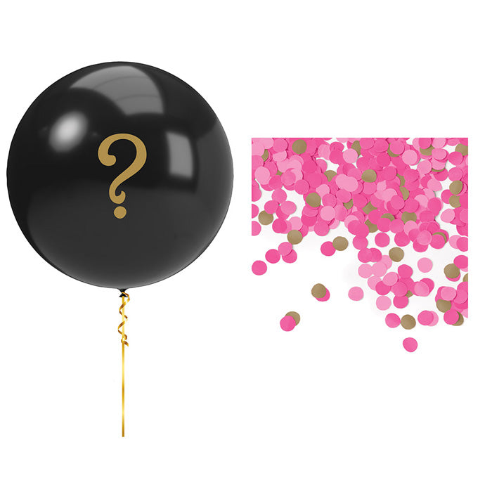 Pink Gender Reveal Balloons Balloon Kit by Creative Converting