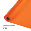 "Sunkissed Orange Banquet Roll 40"" X 100' Party Decoration"