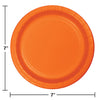 Sunkissed Orange Dessert Plates, 24 ct Party Decoration