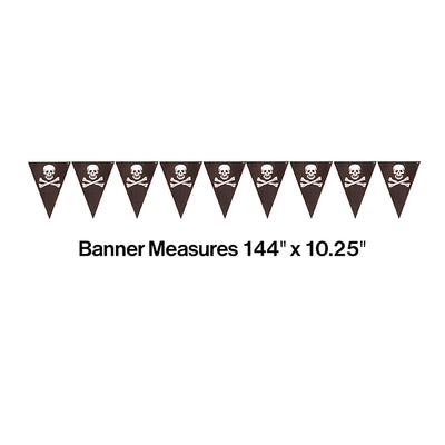 Pirate's Map Flag Banner Party Decoration