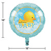 "Bubble Bath Metallic Balloon 18"" Party Decoration"