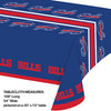 "Buffalo Bills Plastic Tablecloth, 54"" X 108"" Party Decoration"