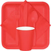 Coral Beverage Napkin 2Ply, 50 ct Party Supplies