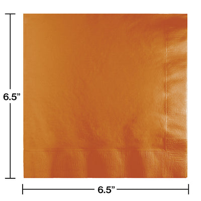 Pumpkin Spice Luncheon Napkin 2Ply, 50 ct Party Decoration