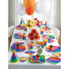Rainbow Adult Party Hats, 8 ct Party Supplies