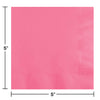 Candy Pink Beverage Napkin 2Ply, 50 ct Party Decoration