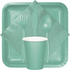 Fresh Mint Green Plastic Forks, 24 ct Party Supplies