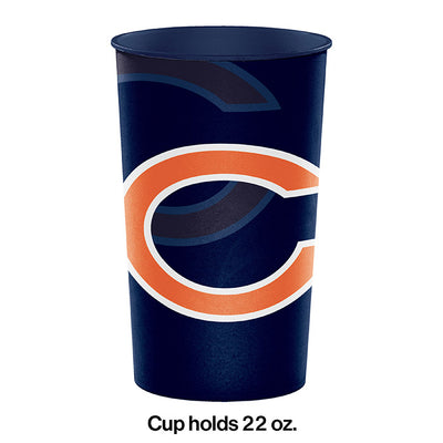 Chicago Bears Plastic Cup, 22 Oz Party Decoration