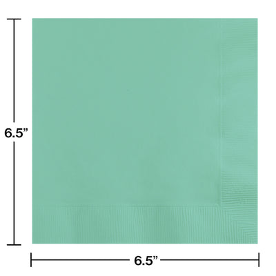Fresh Mint Green Napkins, 20 ct Party Decoration