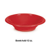 Classic Red 12 Oz Plastic Bowls, 20 ct Party Decoration