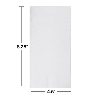 White Buffet Airlaid Napkins, 24 ct Party Decoration