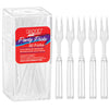 Clear Cocktail Forks, 30 ct Party Supplies
