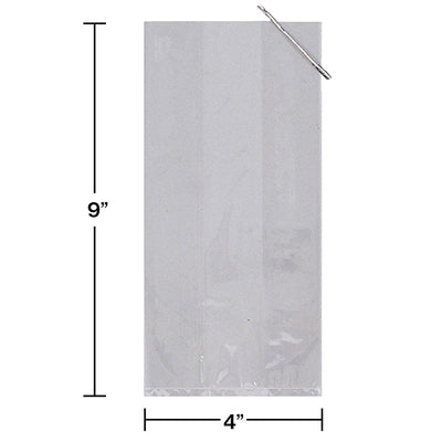 Small Clear Cello Favor Bag, 20 ct Party Decoration