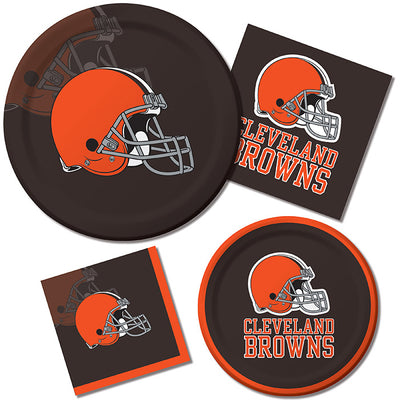 Cleveland Browns Napkins, 16 ct Party Supplies