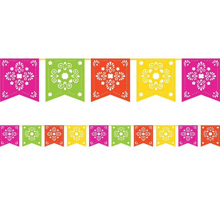 Serape Papel Picado Banner by Creative Converting